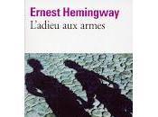 """L'Adieu armes"" d'Ernest Hemingway"