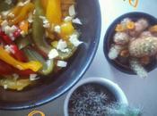 Prendre pour préparer meilleures tartines monde: celles #poivrons grillés. Faire cuire sous grill pendant tournant toutes min) poivrons avec leur peau. sortie four, emballer chacun dans f...