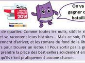 """Matchs rentrée littéraire 2014 j'ai testé livre """"Sous couvertures"""" Bertrand Guillot"""