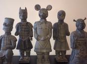 soldats terre cuite Xian version