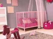 Chambre fille rose pastel