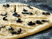 Fougasse olives herbes Provence