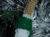 Bouteille champagne tricot