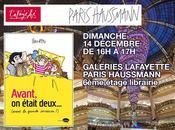 Dimanche décembre Dédicaces Galeries Lafayette Paris Haussmann