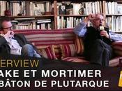 Interview vidéo Yves Sente André Juillard pour Blake Mortimer bâton Plutarque
