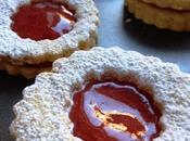 Biscuits confiture fraises