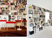Bureau/Bibliothèque pour petits espaces
