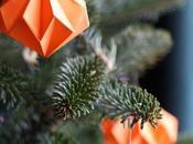 Décoration Noël papier faire avec enfant