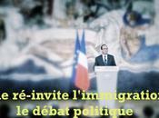 398ème semaine politique: Hollande ré-invite l'immigration dans débat politique