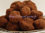 Truffes chocolat lactée caramel