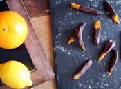 Ecorces d'agrumes confites orangettes chocolat [Pierre Hermé]