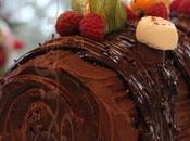 ~Bûche chocolat, noisettes crème marrons~