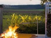 Brasero jardin avec barbecue QRATER Extremis