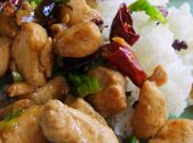 Poulet sauté poivre Sichuan 花椒鸡丁