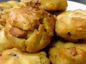 Mini-muffins foie gras cranberries