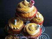 Cupcakes pommes caramélisées topping spéculoos