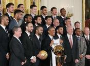 Antonio Spurs reçus Barack Obama
