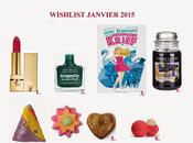 Wishlist janvier 2015