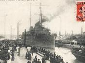 1911 Lancemnt cuirassé Condorcet Saint Nazaire