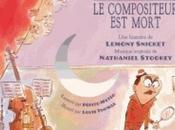 Enquête l'orchestre compositeur mort (Livre-CD) histoire Lemony Snicket musique Nathaniel Stookey