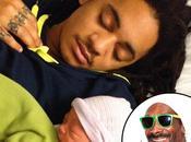 People Snoop Dogg grand-père d'un petit Zion, news