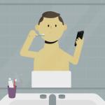Selfie court métrage l'addiction smartphones