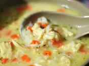 Soupe mijotée poulet