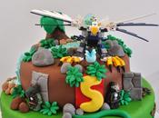 "Gâteau ""LEGO CHIMA"" LEGO CHIMA birthday cake)"