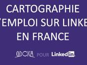 Linkedin offre cartographie emploi France