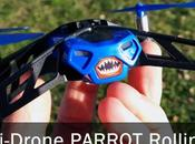 Drone Parrot Minidrones Rolling Spider