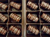 Chocolats fins dulce leche sucre pétillant