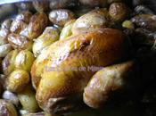 Poulet rôti four pommes grenailles