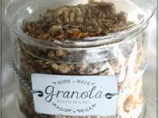Excellent granola maison abricots secs, noix coco, cranberries chocolat