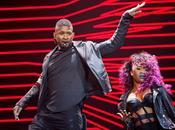 Usher concert Zénith Paris mars 2015