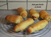 Petits pains briochés chocolats