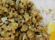 Curry porc haché Népal