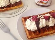 Gaufres gourmandes chantilly Nutella
