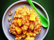 Croûte croûte. CRUMBLE ANANAS-POIRES-GINGEMBRE GRAINES LIN.