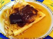 Crêpes Chocolat sauce liqueur