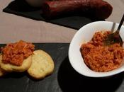 Tartinade chorizo