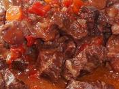 Boeuf daube (joue queue)