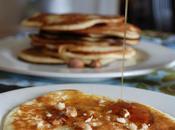 Pancakes sirop d'érable éclats noix