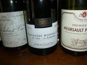Dégustation l'aveugle vins Côte Beaune blancs Premiers Crus