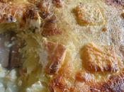 Gratin pommes terre lardons fromage