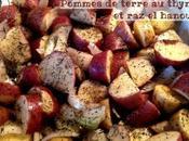 Pommes terre thym hanout