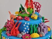 Gâteau anniversaire Disney: petite sirène (birthday cake)