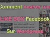 Comment insérer Like Facebook WordPress