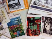 cartes postales aussi crayons)