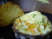 Tartare d'ananas sorbet
