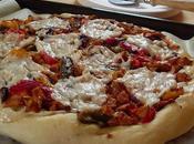 Pizza poulet poivrons (Vegan)